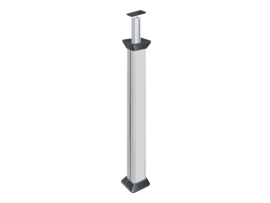 Stĺpec jednostranná ALC 3m hliník
