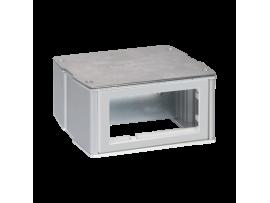 Miniveža dvojstranný KT 4×K45 hliník nerezová oceľ
