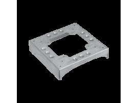 Základ DCS ALU 1 výrez 130×18 a 3 zárezy 85×18 nerezová oceľ