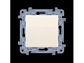 Jednopólový spínač, radenie č. 1 krémová 10AX