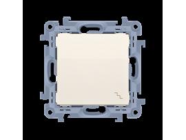 Striedavý prepínač, radenie č. 6 krémová 10AX