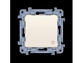 Krížový prepínač, radenie č. 7 krémová 10AX