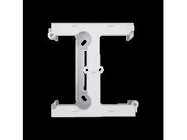 Krabica pre povrchovú montáž  - element rozširujúci jednotuchú krabicu pre viacnásobné rámčeky biela
