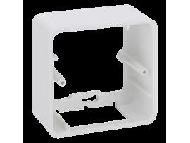 Jednoduchá, skladacia povrchová krabica K45 1×K45 čisto biela