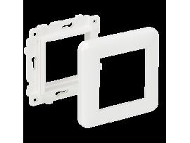 Držiak s rámčekom K45 1×K45 čisto biela