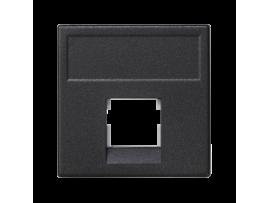 Kryt dátovej zásuvky K45 3M Volition OCK jednotlivý bez krytu plocha 45×45mm grafitovo-sivá