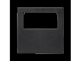 Pripojovací kryt K45 do konektora GESIS® jednotlivý 45×45mm grafitovo-sivá