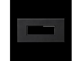 Pripojovací kryt K45 5pólový konektor do konektora GESIS® 90×45mm grafitovo-sivá