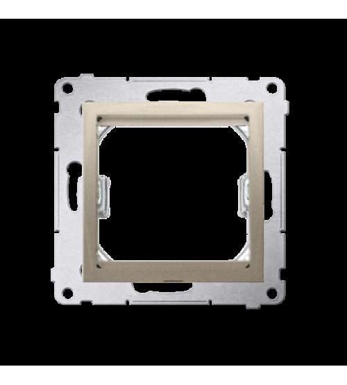 Adaptér pre montáž štandardu 45×45 mm zlatá matná