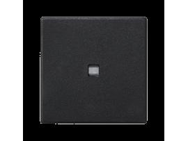 Kláves K45 s podsvietením farba: biela 45×45mm grafitovo-sivá
