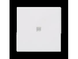 Kláves K45 s podsvietením farba: biela 45×45mm čisto biela