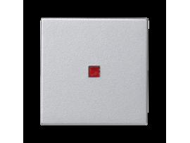 Kláves K45 s podsvietením farba: červený 45×45mm hliník