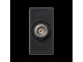 Kryt K45 spojka BNC 45×22,5mm grafitovo-sivá