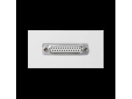 Kryt K45 spojka LPT (D-SUB 25) 90×45mm čisto biela