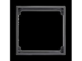 Adaptér SIMON 500 1× K45 50×50mm grafitovo-sivá
