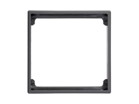 Adaptér SIMON 500 1× SIMON 27 50×50mm grafitovo-sivá