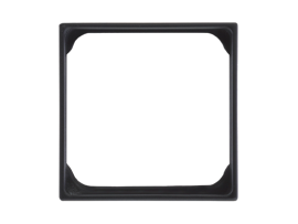 Adaptér SIMON 500 1× SIMON 27 elektronický 50×50mm čisto biela
