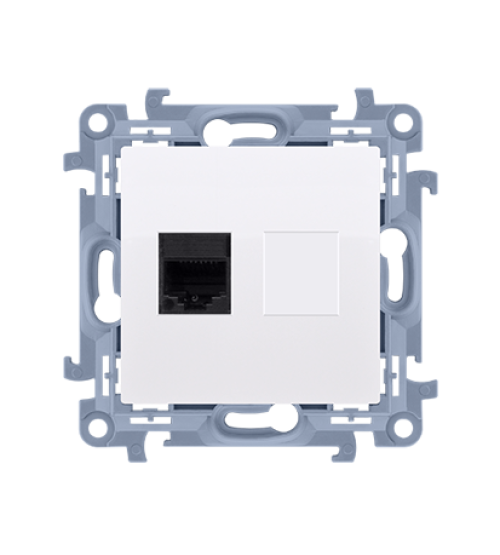 Počítačová zásuvkaRJ45 kategórie 5e biela