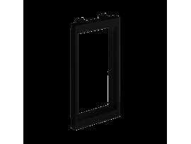 Adaptér CIMA horizontálny priľahlý 2× K45 108×52mm grafitovo-sivá
