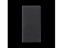 Záslepka K45 45×22,5mm grafitovo-sivá