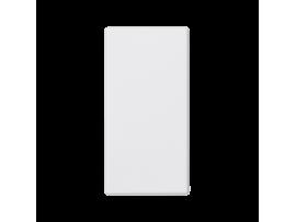 Záslepka K45 45×22,5mm čisto biela