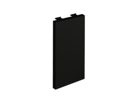 Záslepka CIMA 108×52mm grafitovo-sivá