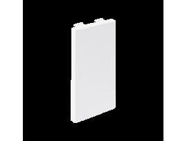 Záslepka CIMA 108×52mm čisto biela