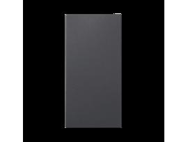 Záslepka SIMON 500 100×50mm grafitovo-sivá