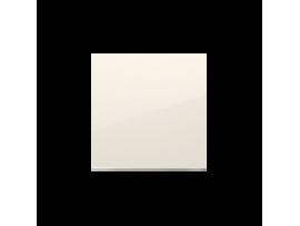 Kryt jednoduchý pre spínače a tlačidlá krémová
