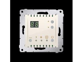 Termostat s displejom (vnútorný senzor) krémová