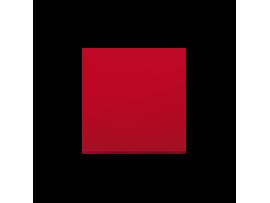 Kryt jednoduchý pre spínače a tlačidlá červený