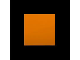 Kryt jednoduchý pre spínače a tlačidlá oranžový