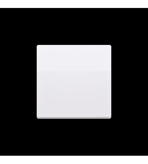 Kryt jednoduchý pre spínače a tlačidlá biela
