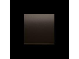 Kryt jednoduchý pre spínače a tlačidlá hnedá matná