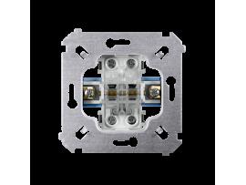 Striedavý prepínač dvojitý, radenie č. 6+6 (prístroj) 10AX 250V, skrutkové svorky,