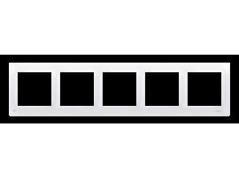Rámček 3- násobný pre sadrokartónové krabičky antibakteriálna biela
