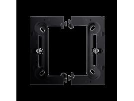 Jednoduchá, skladacia povrchová krabica grafit mat. metalizovaný