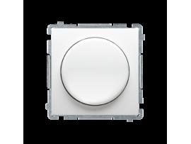 Stmievač pre stmievateľné LED, tlačidlovo-otočný, jednopólový biela V schodiskovom systéme:Áno