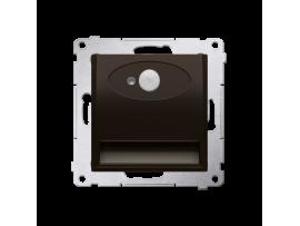 LED svietidlo, s pohybovým senzorom, 14V hnedá matná