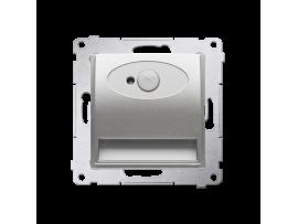 LED svietidlo, s pohybovým senzorom, 14V strieborná matná