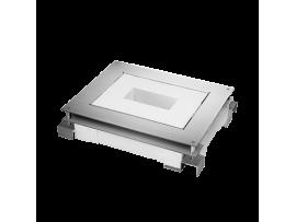 Kazeta z kovu pre liate podlahy FB obdĺžnikový 90mm120mm