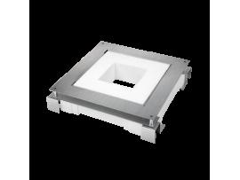 Kazeta z kovu pre liate podlahy FB štvorcová 90mm120mm