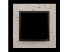 Rámček 1 - násobný betonový Svetlý betón/antracit