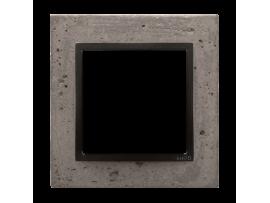 Rámček 1 - násobný betonový Tmavý betón/antracit