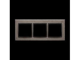 Rámček 3 - násobný betonový Tmavý betón/antracit