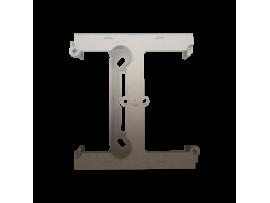 Krabica pre povrchovú montáž  - element rozširujúci jednotuchú krabicu pre viacnásobné rámčeky zlatá matná