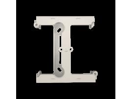 Krabica pre povrchovú montáž  - element rozširujúci jednotuchú krabicu pre viacnásobné rámčeky krémová