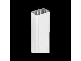 Predlžujúci prvok pre stĺpy jednostranných ALC dĺ.:0,5m čisto biela