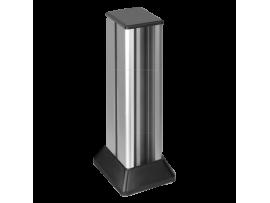 Mini stĺpec dvojstranný ALC 741mm 20×K45 10×CIMA 10×S500 hliník