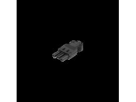 Vidlica GESIS® 3pólová zástrčka 16A 250V grafitovo-sivá